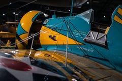 Sarbacane de Boeing P-26 Photographie stock libre de droits