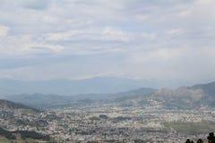 Sarban wzgórza wierzchołek w Pakistan Obraz Royalty Free