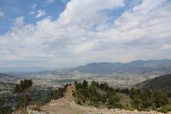 Sarban wzgórza wierzchołek w Pakistan fotografia royalty free