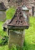 Sarcófago de pedra dos povos de Minahasa de Sulawesi fotografia de stock