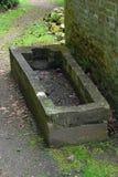 Sarcófago viejo, casa de verano, abadía de Mottisfont, Hampshire, Inglaterra Imagen de archivo