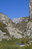 Sarca gorge in Trentino Royalty Free Stock Image