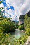 Sarca River near Sarche - Trentino Italy Royalty Free Stock Photography