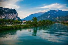 The Sarca river stock photos