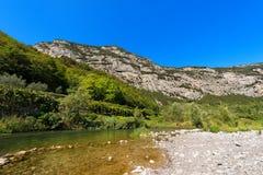 Sarca River - Trentino Italy Stock Photos