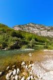 Sarca River - Trentino Italy Stock Photography