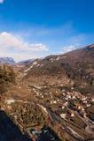 Sarca-Tal - ACRO di Trento Italien Stockfotos