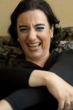 Sarcastic woman Royalty Free Stock Photos