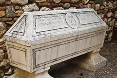 Sarcofago Fotografia Stock