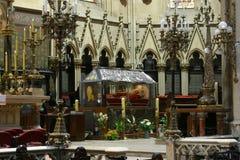 Sarcofago di Alojzije benedetto Stepinac, cattedrale di Zagabria Fotografia Stock
