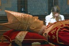 Sarcofago di Alojzije benedetto Stepinac, cattedrale di Zagabria Fotografie Stock Libere da Diritti
