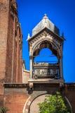 Sarcofago Guglielmo di Castelbarco in Santa Anastasia Square, Verona, Veneto, Italia immagini stock