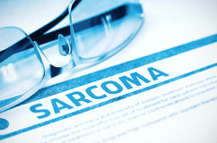 sarcoma Medicin illustration 3d Royaltyfri Fotografi