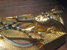 Sarcophage d'or image libre de droits