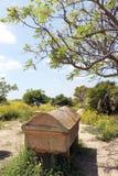 Sarcophage du grec ancien Image libre de droits