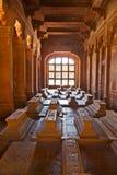 Sarcophagi in the Jama Masjid Mosque Stock Photo