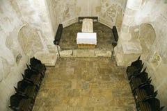 Sarcophagus - старый замок в Румынии Стоковая Фотография RF