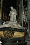 Sarcophagus Benedicto XV. Royalty Free Stock Photography