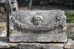 Sarcophagus in Bodrum Castle Stock Photos