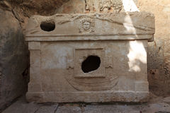 Sarcophagus of Captain Eudemos Royalty Free Stock Photo