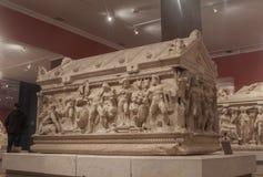 Sarcophagus Stock Photo