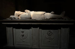 Sarcophagus of the Gustave King in Tavast Chapel, Turku, Finland Stock Photo