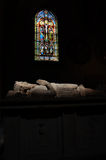 Sarcophagus of the Gustave King in Tavast Chapel, Turku, Finland Stock Photos