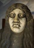 Sarcophagus Head Stock Photography