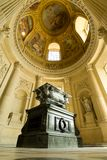 The sarcophagus of Joseph Bonaparte in Les Invalid Stock Photos