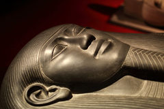 Sarcophagus of King Tabnit Stock Photography