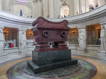 The sarcophagus of Napoleon Bonaparte Royalty Free Stock Photos