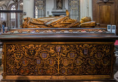 Sarcophagus Our Lady of Mariastraat Church Bruges Stock Image