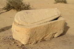 Sarcophagus of Pharaoh in Egypt Royalty Free Stock Photos