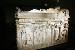 Sarcophagus of rapolla Stock Photos