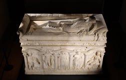 Sarcophagus of Rapolla Royalty Free Stock Photos