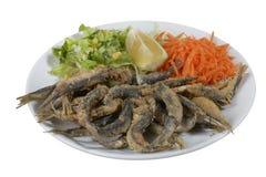 Sardalya Tava - Turkish grilled sardines. Royalty Free Stock Photo