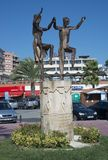 Sardana, каталонское sculture дани танца стоковые фото