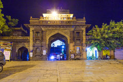 Sardar market at the clocktower by night Royalty Free Stock Photography