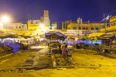 Sardar market at the clocktower by night Stock Photos
