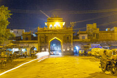 Sardar market at the clocktower by night Stock Photography