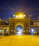 Sardar market at the clocktower by night Stock Image