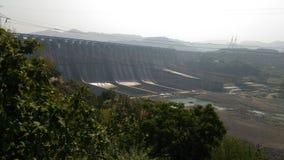 Sardar sarovar dam Royalty Free Stock Image