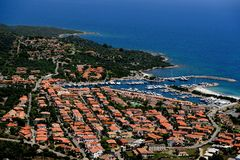 Sardegan-Porto Ottiolu Royalty Free Stock Photos