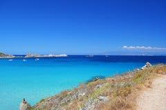 Sardegna, Ιταλία, πλευρά Smeralda Στοκ Φωτογραφία