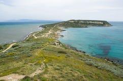 Sardegna, Capo S. Marco Royalty-vrije Stock Fotografie