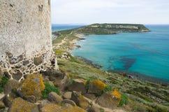 Sardegna, Capo S. Marco Royalty-vrije Stock Afbeelding