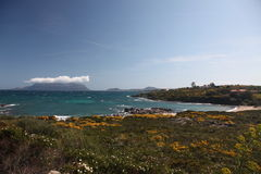 Sardegna costa smeralda Italy Royalty Free Stock Photography