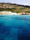 Sardegna experience. Smarald waters sardegna royalty free stock photo