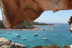 Sardegna, Italië, Costa Smeralda Stock Foto's