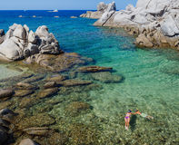 Sardegna. Italy. Beauiful view of the Sardegna bay. Italy stock photos